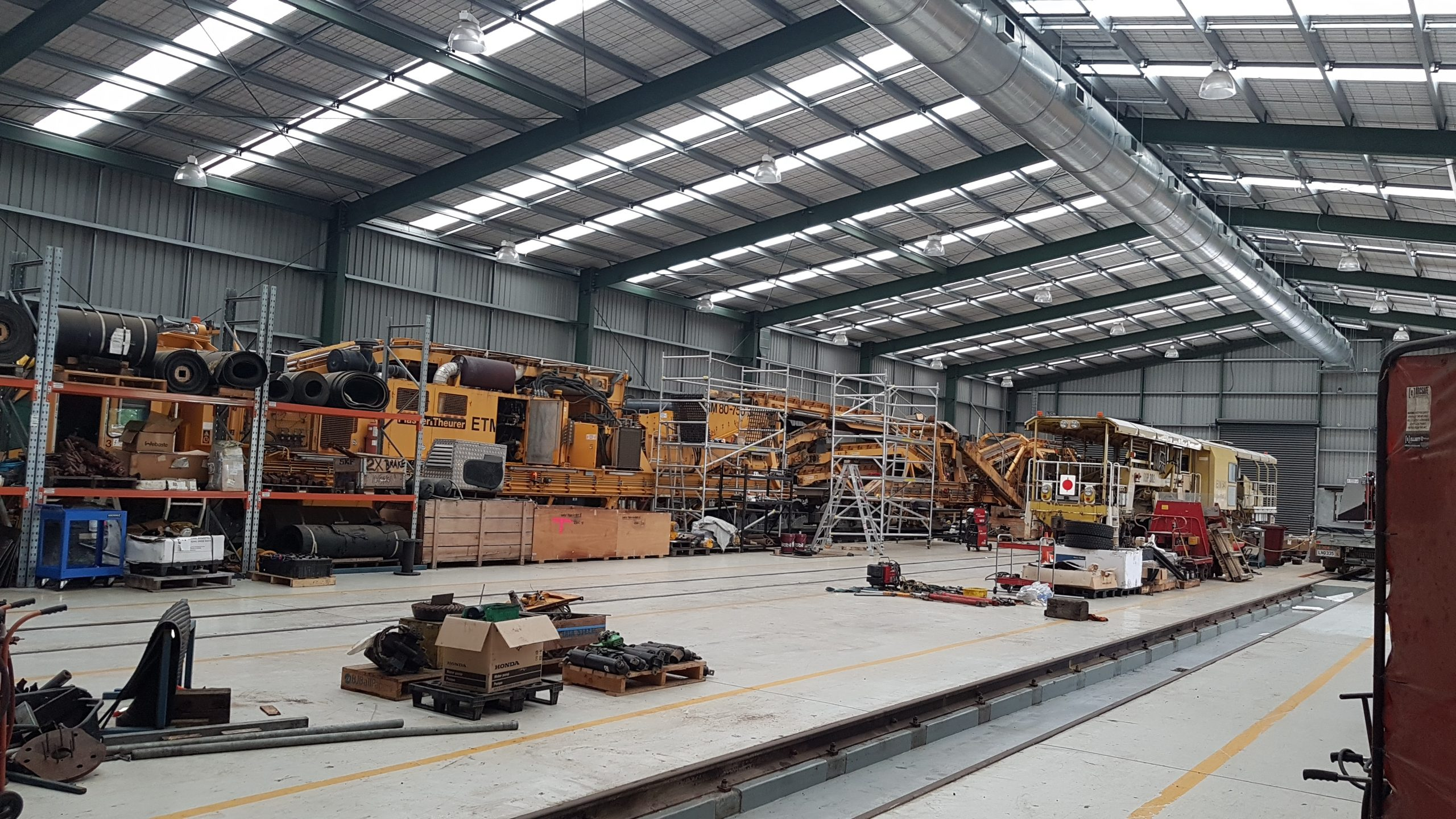Rail Workshop - Gas Detection