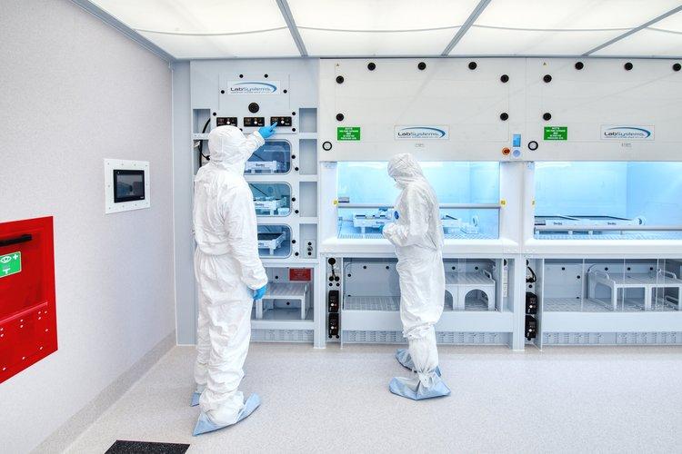 Image:Trace Metal Free Clean Lab – University of Otago